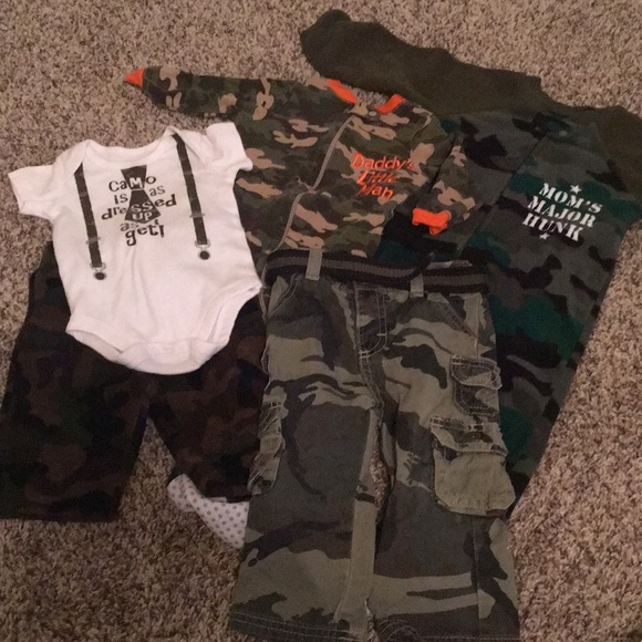 e1b5d1a7d Garanimals Matching Sets | Baby Boy Camo Cutie Lot Sizes 018 Months ...